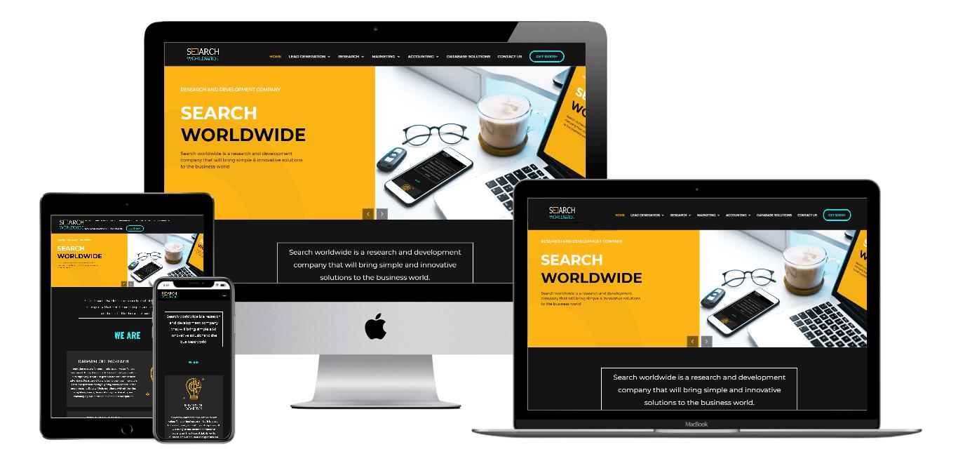 Search World Wide | Portfolio Websites | CMECK Web Design Portfolio