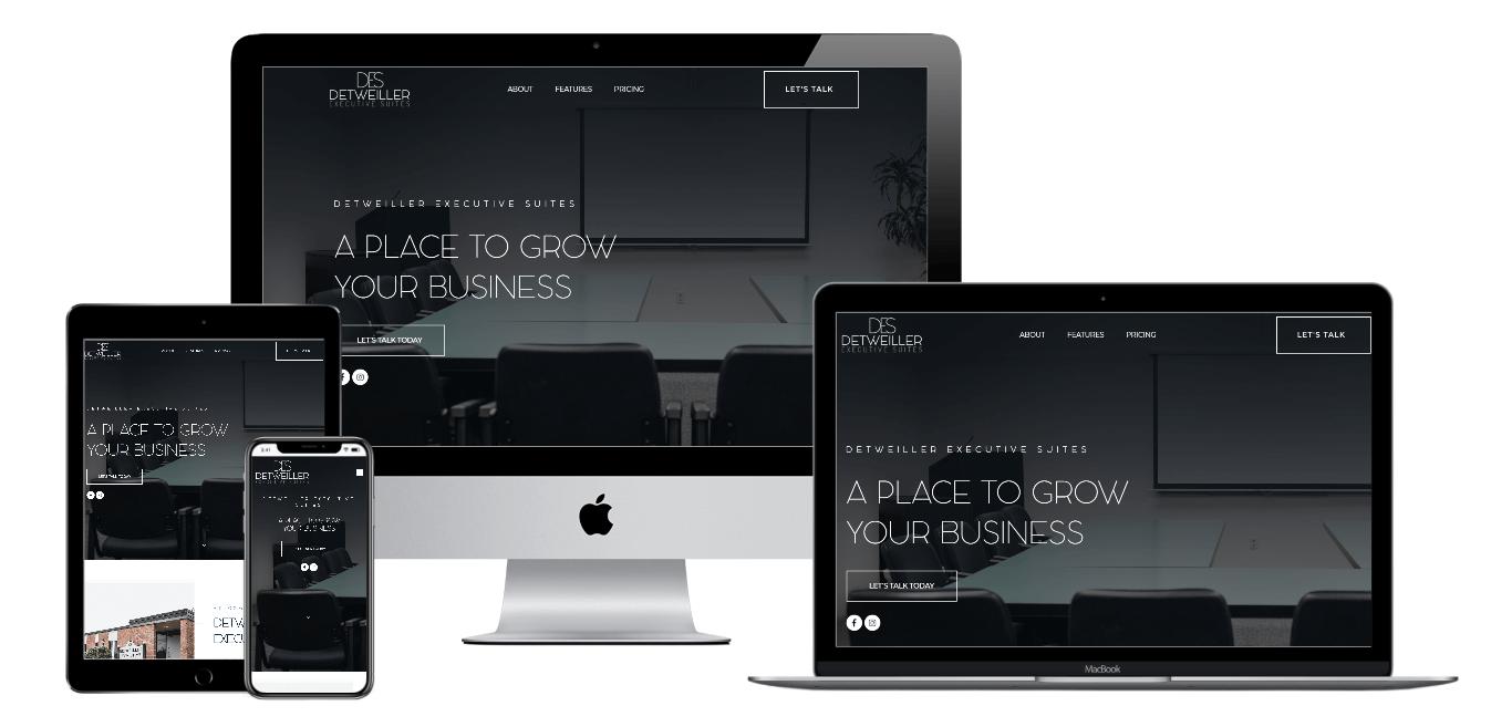 Despeoria | Portfolio Websites | CMECK Web Design Portfolio
