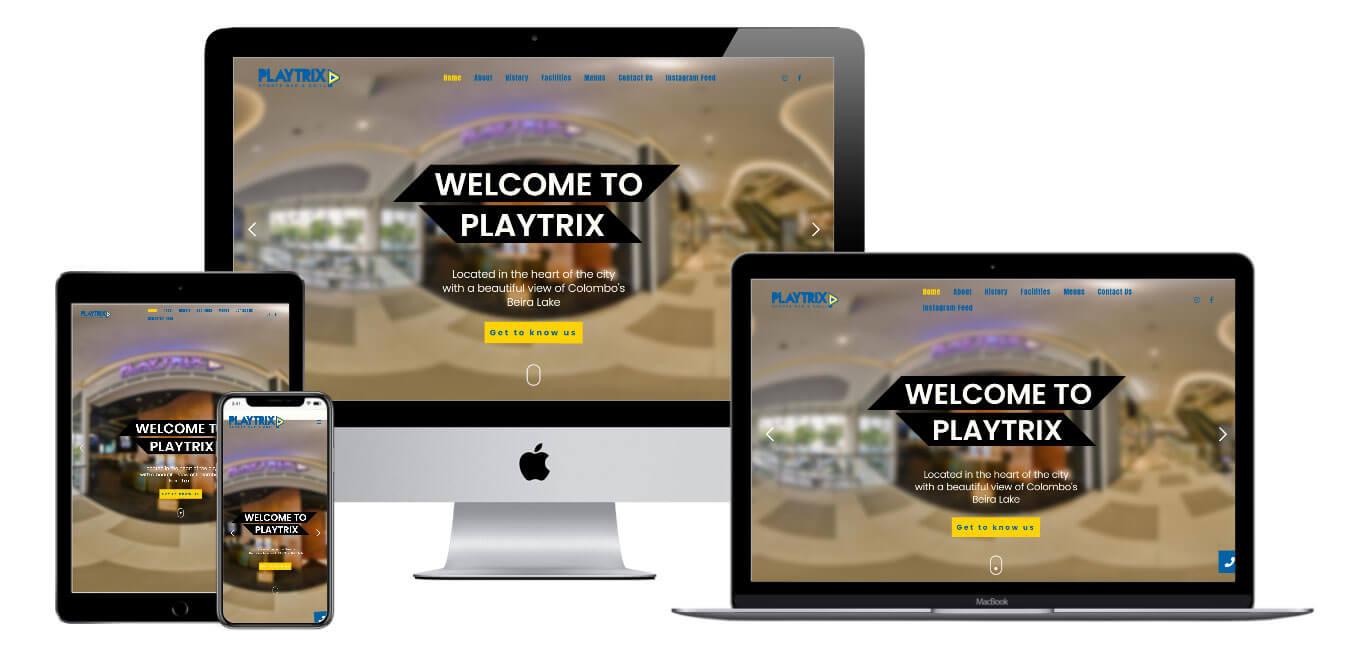 Play Trix | Portfolio Websites | CMECK Web Design Portfolio